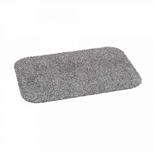 Cotton + Washable Door Mat Grey