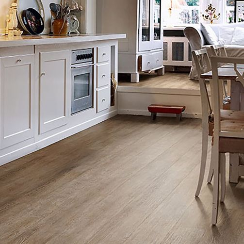Polyflor Camaro Loc 3438 Tan Limed Oak Click Vinyl Flooring