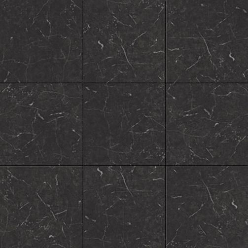 Karndean Knight Tile T74 Midnight Black Luxury Vinyl Flooring