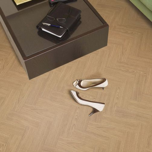Signature Select Parquet Luxury Vinyl Flooring Blonde Oak SSP-002