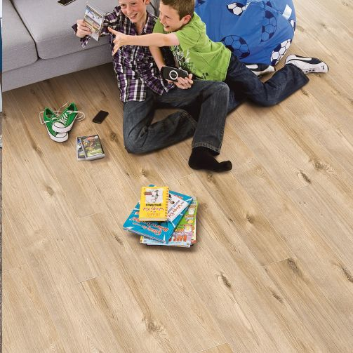 Elka 12mm Laminate Flooring Toasted Oak