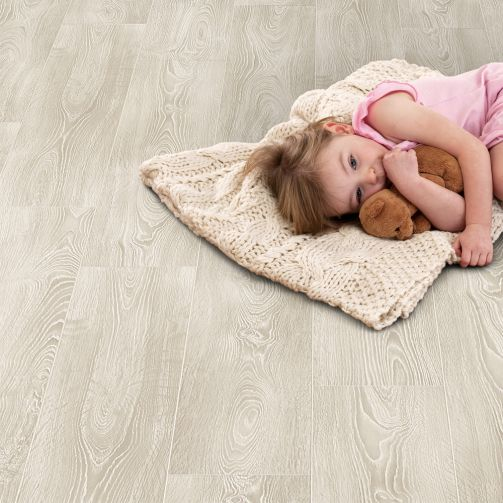 Elka 8mm Laminate Frosted Oak Laminate Flooring