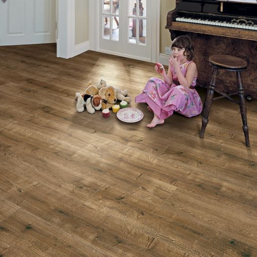 Elka 8mm Laminate Smoked Oak Laminate Flooring