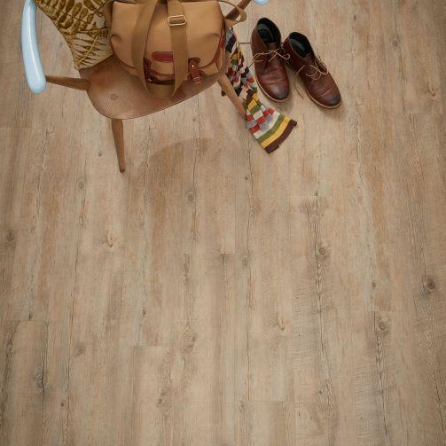 Naturelle Rustic Cottage Oak Gluedown Luxury Vinyl Flooring