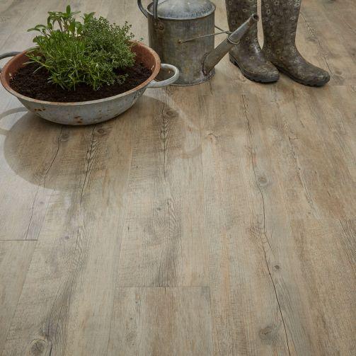 Naturelle Distressed Oak Gluedown Luxury Vinyl Flooring