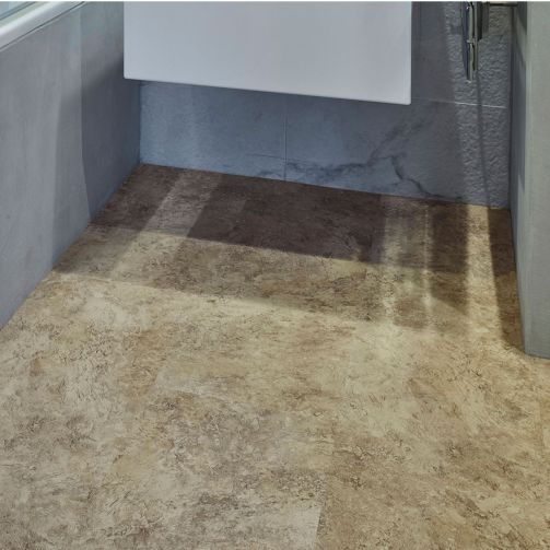LG Hausys Harmony Rigid SPC Click Luxury Vinyl Tile Flooring Fossil