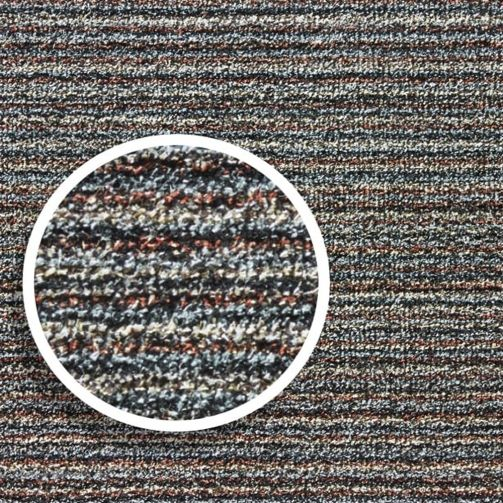 Washable Cotton Door Mat Cut to Size Multiple Sizes Available - Candy Stripe