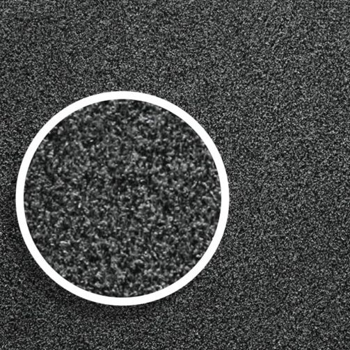 Washable Cotton Door Mat Cut to Size Multiple Sizes Available - Charcoal
