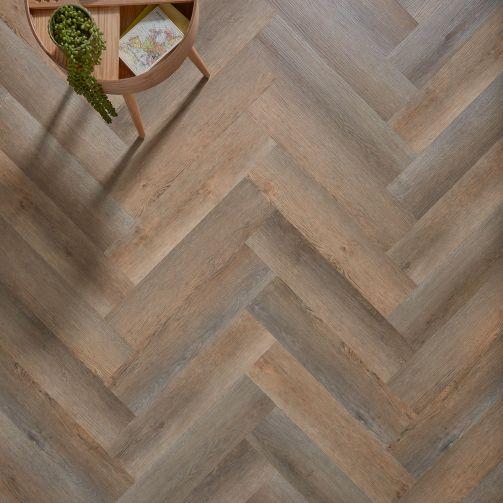 Naturelle Cottage Oak Herringbone SPC Rigid Core Click Vinyl Flooring