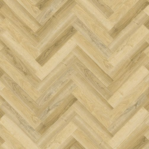 Naturelle Barley Oak Herringbone SPC Rigid Click Vinyl Flooring