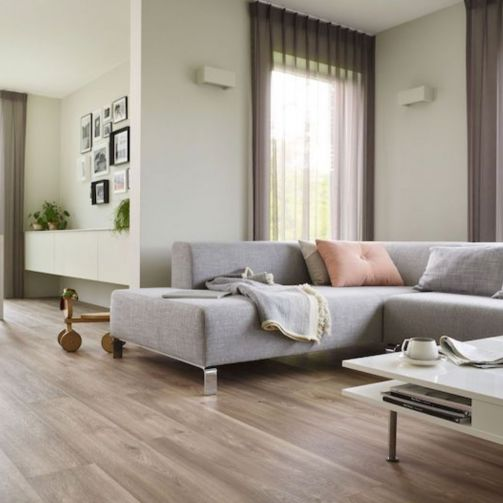 Naturelle Luxury Vinyl Flooring LVT Gluedown Plank Feathered Oak