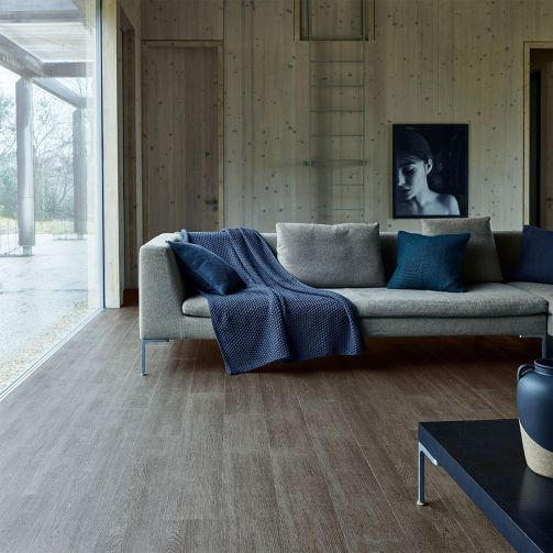 Naturelle Click Vinyl Grey Smoked Oak Luxury Vinyl Flooring