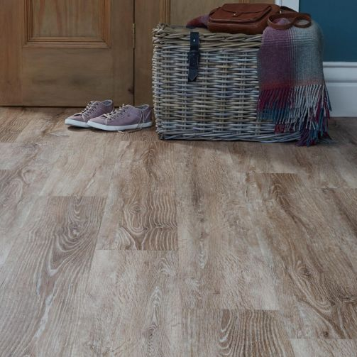 Naturelle Caribbean Beachwood Gluedown Luxury Vinyl Flooring