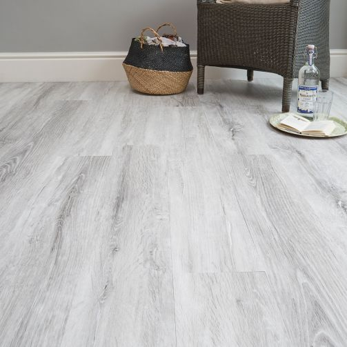 Naturelle Swiss Mountain Oak Gluedown Luxury Vinyl Flooring