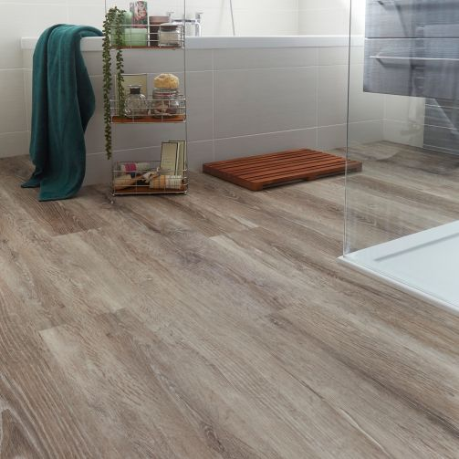 Naturelle Desert Oak Natural Gluedown Luxury Vinyl Flooring