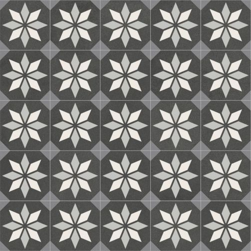 Victorian Tile Style Sheet Vinyl Flooring Harrington