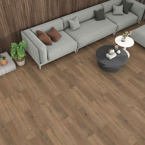 Prestige Timbers® 8mm Laminate Flooring Dark Oak