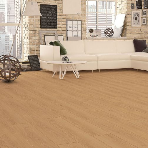 Prestige Timbers® 8mm Laminate Flooring Light Oak