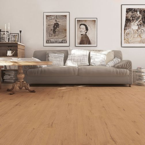 Prestige Timbers® 8mm Laminate Flooring Wild Oak