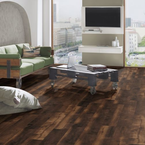 Prestige Timbers® 10mm Laminate Flooring Aged Whiskey Barrel