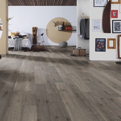 Prestige Timbers® 8mm Laminate Flooring Dusky Oak