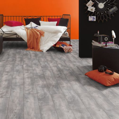Prestige Timbers® 8mm Laminate Flooring Grey Smoulder