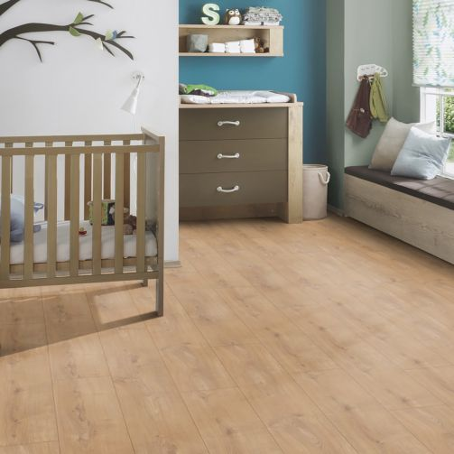 Prestige Timbers® 8mm Laminate Flooring Traditional Oak