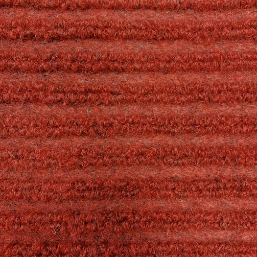 Red Ribbed Barrier Entrance Matting