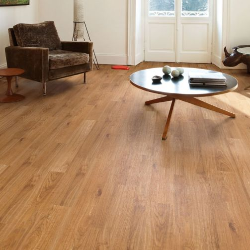 Naturelle Golden Oak SPC Rigid Core Click Vinyl Flooring