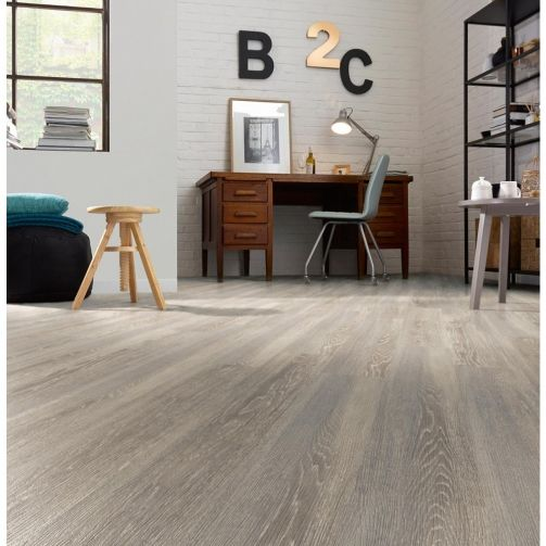 Naturelle Grey Mountain Oak SPC Rigid Core Click Vinyl Flooring