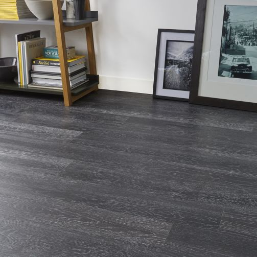 Naturelle Design Flooring Black Ash Luxury Vinyl Flooring