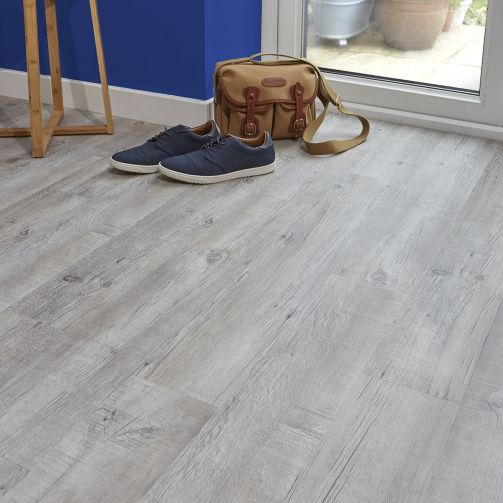 Naturelle Design Flooring Light Frosted Oak Luxury Vinyl Flooring