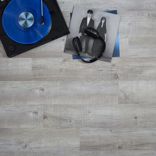 Naturelle Light Frosted Oak SPC Rigid Core Click Vinyl Flooring