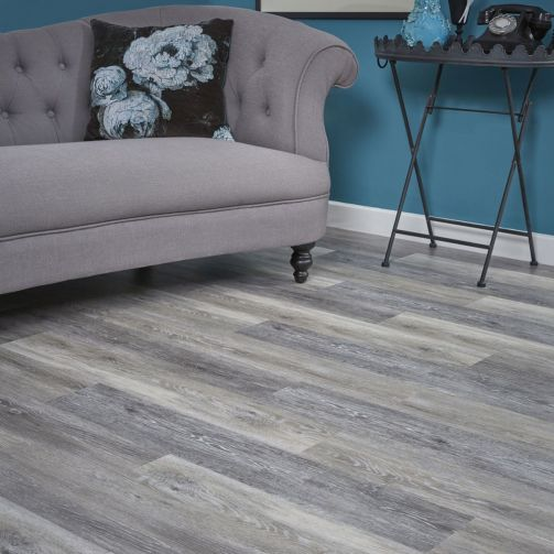 Naturelle Driftwood Grey SPC Rigid Core Click Vinyl Flooring
