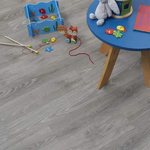 Naturelle Design Flooring Silver Grey Ash Luxury Vinyl Flooring