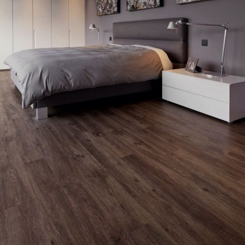Naturelle Luxury Vinyl Flooring LVT Gluedown Plank Casket Oak