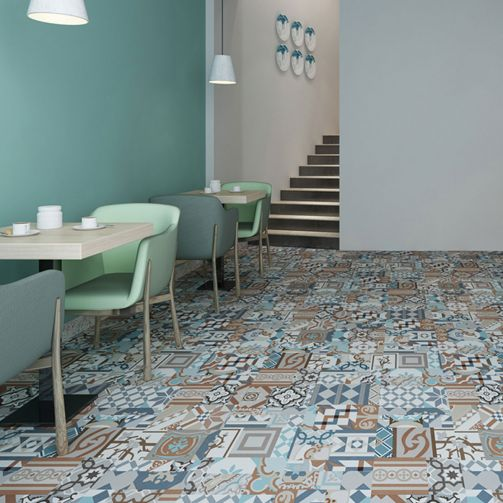 Naturelle Self Adhesive Vinyl Flooring - Moroccan Mosaic Tile