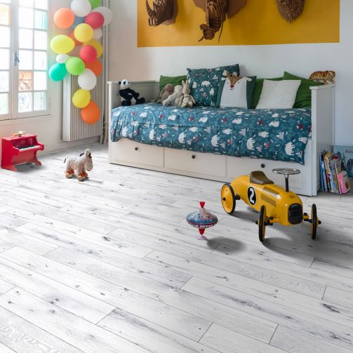 Supreme Sheet Vinyl Flooring Winter White Wood