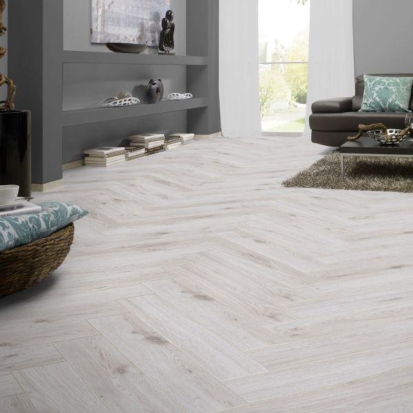 8mm Herringbone Laminate Flooring, White Herringbone Laminate Flooring