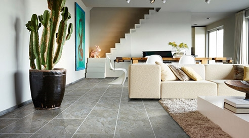 Living room with Moduleo
